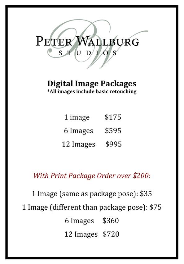 0 Digital Image Price Packages